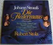 Album artwork for J. Strauss: Die Fledermaus / Schock, Berry, Holm,