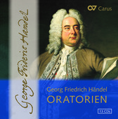 Album artwork for Handel: Oratorios