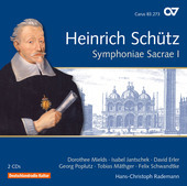 Album artwork for Schütz: Symphoniae sacrae I, Op. 6