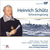 Album artwork for Schütz: Schwanengesang / Rademann