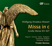 Album artwork for Mozart: Mass in C Minor, K. 427