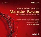 Album artwork for Bach: Matthäus-Passion - St. Matthew Passion
