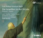 Album artwork for CPE Bach: Israeliten in Wüste / Bernius