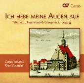 Album artwork for Telemann, Heinichen & Graupner in Leipzig