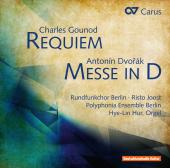 Album artwork for Gounod: Requiem / Dvorak, Mass in D