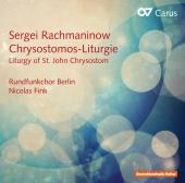 Album artwork for Rachmaninoff: Chrysostomos-Liturgie, Op. 31