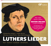 Album artwork for Luthers Lieder