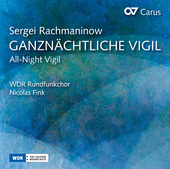 Album artwork for Rachmaninoff: All-night Vigil, Op. 37