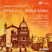 Album artwork for Mayr: Missa in C Minor & Stabat Mater