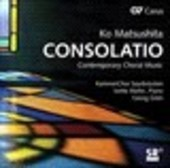 Album artwork for Matsushita: Consolatio - Contemporary Choral Music