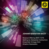 Album artwork for MUSICAL OFFERING BWV 1079