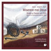 Album artwork for Miserere Meus - 1500's Music for Passiontide