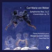 Album artwork for Weber: SYMPHONIES NOS. 1 & 2