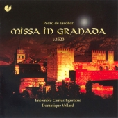 Album artwork for MISSA IN GRANADA