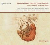 Album artwork for German lute music of the 18th c.