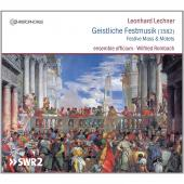 Album artwork for Lechner: Festive Mass & Motets