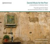 Album artwork for Sacred Music for the Poor at Santa Maria in Rome