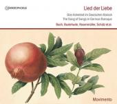 Album artwork for Lied der Liebe - The Song of Songs in German Baroq