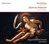 Album artwork for Bollius: Johannes-Oratorium - St. John's Oratorio