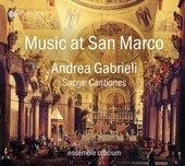 Album artwork for Gabrieli: Sacrae Cantiones - Music at San Marco