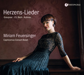 Album artwork for Herzens-Lieder - German Baroque Cantatas