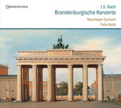 Album artwork for Bach: Brandenburgische Konzerte