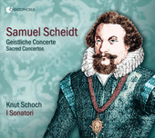 Album artwork for Scheidt: Geistliche Concerte
