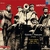 Album artwork for OYTSRES, TREASURES, KLEZMER MUSIC 1908-1996