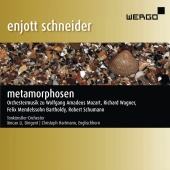 Album artwork for SCHNEIDER. Metamorphosen. Tonkunstler-Orchester/Li