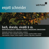 Album artwork for SCHNEIDER: BACH, DRACULA, VIVALDI & CO.