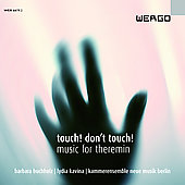Album artwork for TOUCH! DON'T TOUCH! MUSIC FOR THEREMIN