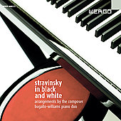 Album artwork for STRAVINSKY: STRAVINSKY IN BLACK AND WHITE - ARRANG