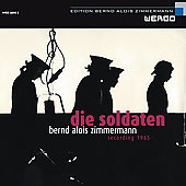 Album artwork for Zimmerman: Die Soldaten (Gielen)