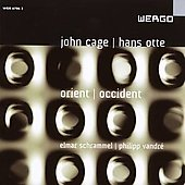 Album artwork for Cage/Otte: Orient / Occident