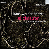 Album artwork for Hans Wener Henze: El Cimarron