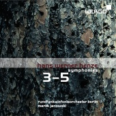 Album artwork for Henze: Symphonies Nos. 3-5 / Janowski