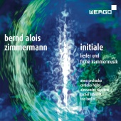 Album artwork for Bernd Alois Zimmermann: Initiale - Songs & Early C