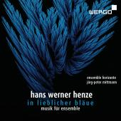 Album artwork for Hans Werner Henze: In lieblicher Bläue