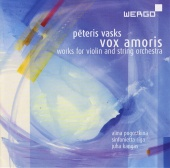 Album artwork for Vasks: Vox amoris, Tala gaisma