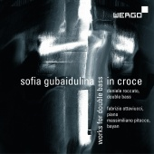 Album artwork for Gubaidulina: In Croce - Works for Double Bass
