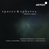 Album artwork for Spaces & Spheres - Intuitive Music. Various Artist
