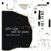 Album artwork for Cage: Solo for Piano / Liebner