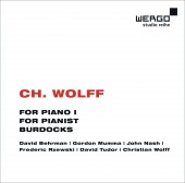 Album artwork for C. H. Wolff: For Piano I / For Pianist / Burdocks