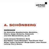 Album artwork for Schoenberg: SERENADE OP. 24 / Boulez