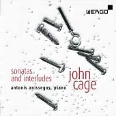 Album artwork for CAGE. Sonatas and Interludes. Anissegos