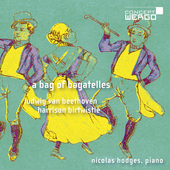 Album artwork for Beethoven & Birtwistle: A Bag of Bagatelles