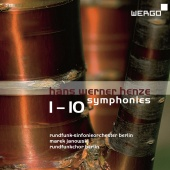Album artwork for HENZE. Symphonies Nos.1-10. Rundfunk-Sinfonie/Jano