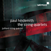 Album artwork for Hindemith: String Quartets / Julliard String Quart