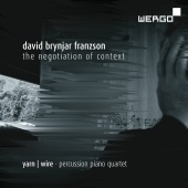 Album artwork for FRANZSON. The Negotiation of Context. Yarn Wire
