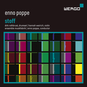 Album artwork for Enno Poppe: Stoff